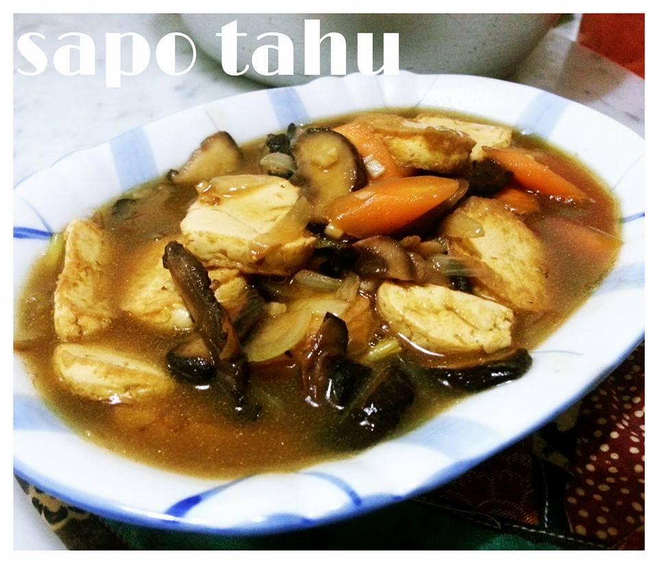 Dapur Kreasiku Nugget Tahu: Resep Masakan Sapo Tahu