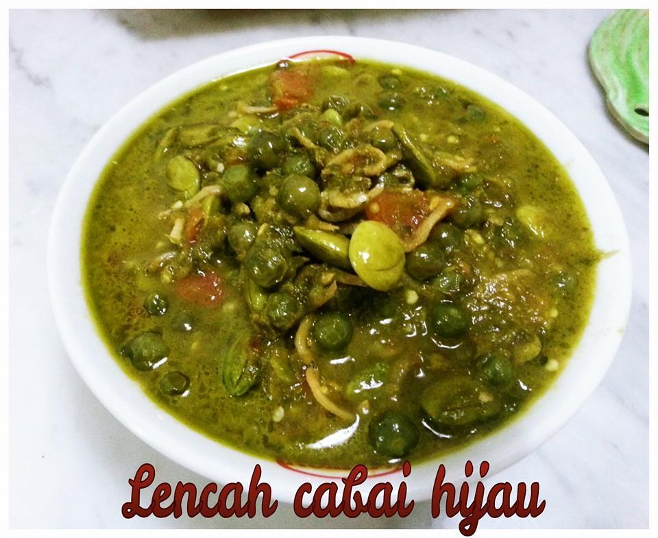 Resep masakan leunca cabai hijau
