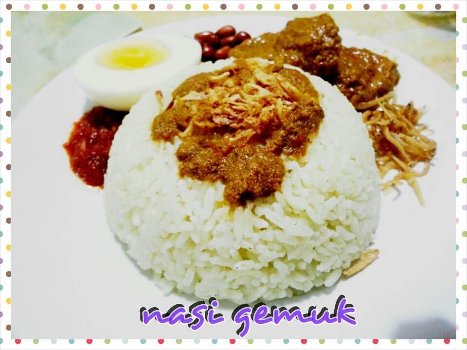Resep masakan nasi gemuk khas jambi