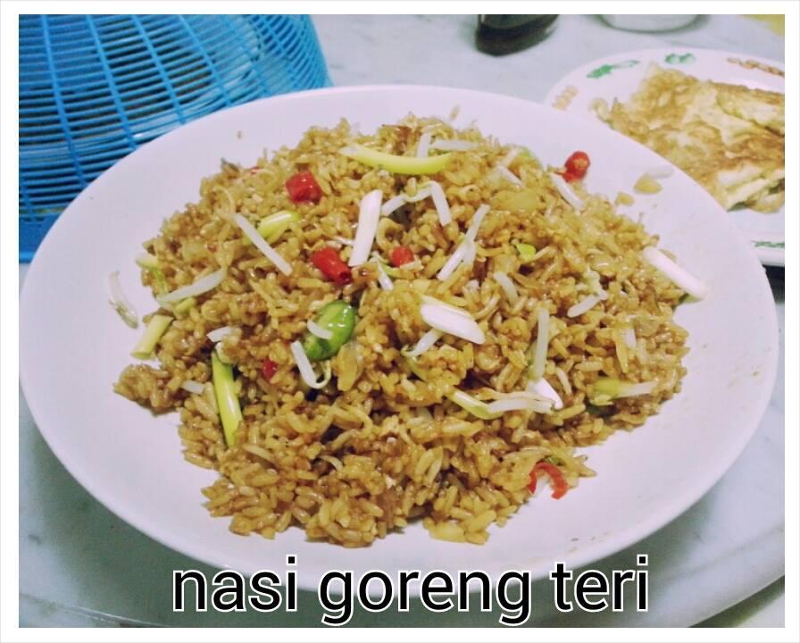 Resep masakan nasi goreng teri